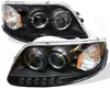 Umnitza Schemer Headlighrs Dual Led Halos Ford F150 97-03
