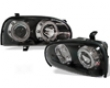 Umnitza Projector Headlights With Led Angel Eyes Volkswagen Golf Iii 92-98