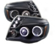 Umnitza Projector Headlights With Led Angel Eyes Toyota Tacoma 05-07
