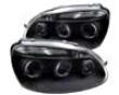 Umnitza Schemer Headlights With Led Angel Eyes Volkswagen Golf V 05-08