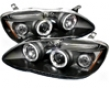 Umnitza Projector Headlights With Led Angel Eyes Toyota Corolla 03-06