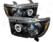 Umnitza Projector Headlights With Led Angel Eyes Toyota Tacoma 07-08