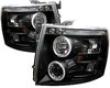 Umnitza Projector Headlights With Led Halos Chevy Silverado 07-08
