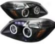 Umnitza Projector Headlights Attending Led Halos Chevy Cobalt 05-07