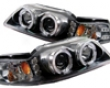 Umnitza Projector Headlights With Led Halos Ford Mustang 99-04