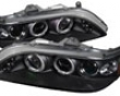 Unitza Projector Headlights With Led Halos Honda Accord 98-02