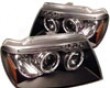 Umnitza Projector Headlights With Led Halos Jeep Grand Cherokee 99-04