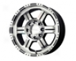 V-tec Off-road 17x8.5  5x127  0mm Gloss Black Machined Confidence