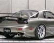Veilside Ci Rear Under Wings Mazda Rx7 Fd3s 93-02