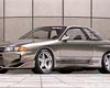 Veilside Ci Verge Skirts Nissan Skyline R32 Gtr 89-94