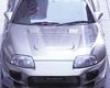 Veilside Cii Carbon Hood Toyota Supra Jza80 93-98