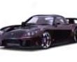 Veislide Fortune Full Body Kit Mazda Rx7 Fd3s 93-02