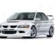Veilside Version 1 Frp Front Half Spoiler Mitsubishi Evo Viii 03-05