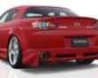 Veilside Version 1 Urethane Rear Lip Spoiler Mazda Rx8 04-08