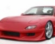 Veilside Vs D1-gt Forehead Bumper Mazda Rx7 Fd3s 93-02