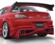 Veilside Vs D1-gt Rear Bumper Mazda Rx8 04-08