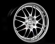 Velocity Motoring Wheels V715 19x9.5 5x120 Super Siler With Polished Lip