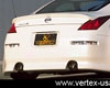 Vertex Rear Bumper Niqsan 350z Z33 02-09