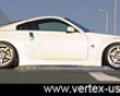Vertex Side Skirts Nissaan 350z Z33 03-09