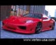 Vertex Vertice Cfrp 3 Piece Aero Kit Ferrari 360 Modena 99-05