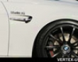 Vertex Vertice Front Fender Duct Bmw E92 Coupe M3 08+