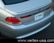 Vertex Vertice Rear Lip Bmw7  Series E65/e66 Long Wheelbase 02-05/27/05