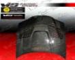 Vis Racing Carbon Fibe  Gtr Style Hood Bmw 3 Series E46 2dr 99-03