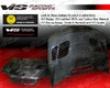 Vis Racing Carbon Fibe Gtr Style Hood Bmw M3 2dr 01-05