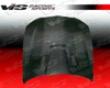 Vis Racing Carbon Fibe M Tech Style Hood Bmw 3 Series E90 4dr 06-08