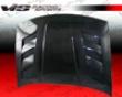 Vis Racing Carbon Fiber Ams Hood Nissan 300zx 90-96