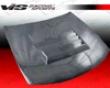 Vis Racing Carbon Fiber Drift Hood Nissan 240sx 95-96