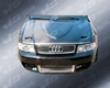 Vis Racing Carbon Fiber Euro R Style Hood Audi A4 02-05