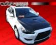 Vis Racing Carbon Fiber Evo 10 Hood Mitsubishi Lancer 08+