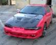 Vis Racing Carbon Fiber Evo Hood Mitsubishi Extinguish 1g 92-94