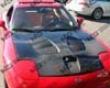 Vis Racing Carbon Fiber Fuzion Hood Mazda Rx7 93-96