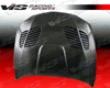 Vis Racing Carbon Fiber Gtr Style Hood Bmw 1 Series 08+