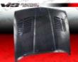 Vis Racing Carbon Fiber Grt Style Hood Bmw 3 Srries E30 84-91