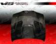Vis Racing Carbon Fiber Gtr Style Hood Bmw E39 9703