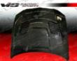 Vis Racing Carbon Fiber Gtr Style Hood Bmw E92 M3 2dr 07-08