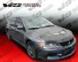 Vis Racing Carbon Fiber Invader 2 Hood Mitsubishi Evo Ix 06-07