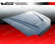 Vis Racing Carbon Fiber Invader Hood Honda Civic 4dr 92-95