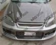 Vis Racing Carbon Fiber Invader Hood Honda Civic 99-00