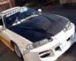 Vis Racing Carbon Fiber Invader Hood Honda Prelude 92-96