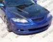 Vis Racing Carbon Fiber Invader Hood Mazda 6 03-07