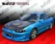 Vis Racing Carbon Fiber Invadre Hood Mitsubishi Eclipse 2g 95-99
