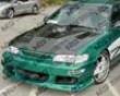 Vis Racing Carbon Fiber Invader Hood Toyota Corolla 98-02
