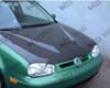 Vis Racing Carbon Fiber Invader Hood Volkswagen Golf Iv 99-06