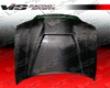 Vis Racing Carbon Fiber Invader Style Hood Audi A4 96-01