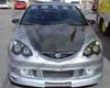 Vis Racing Carbon Fiber Invader Type 6 Style Hood Acura Rsx 02-97