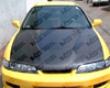 Vis Racing Carbon Fiber Jdm Type R Invader Style Hood Acura Integra 94-01